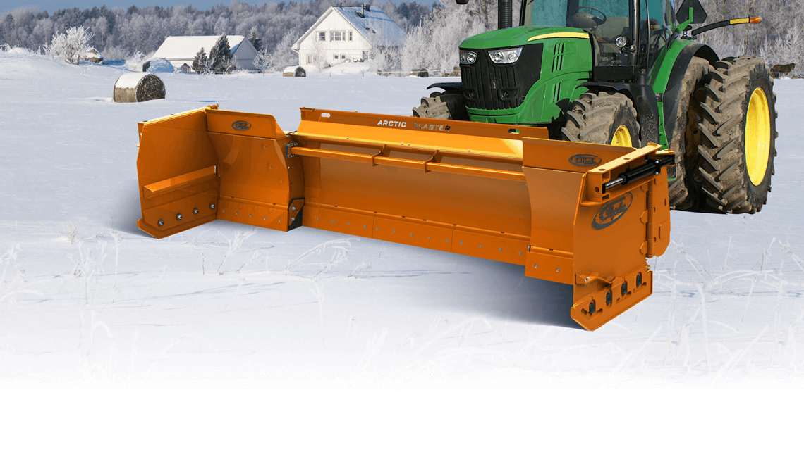 snow plow arctic blaster agricultural
