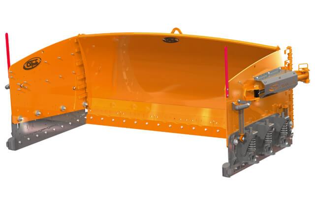 shoule snow plow arctic blaster h hydraulic industrial
