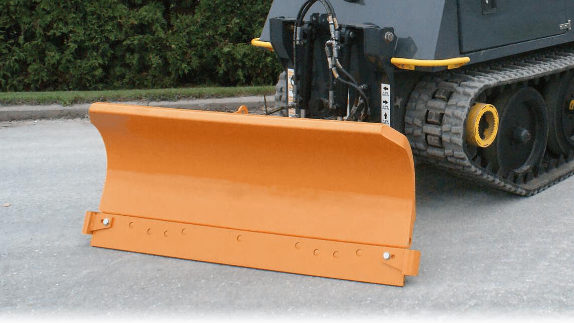 snow plow sidewalk industrial