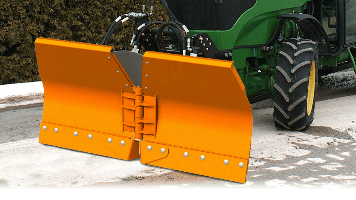 snow plow sidewalk agricultural