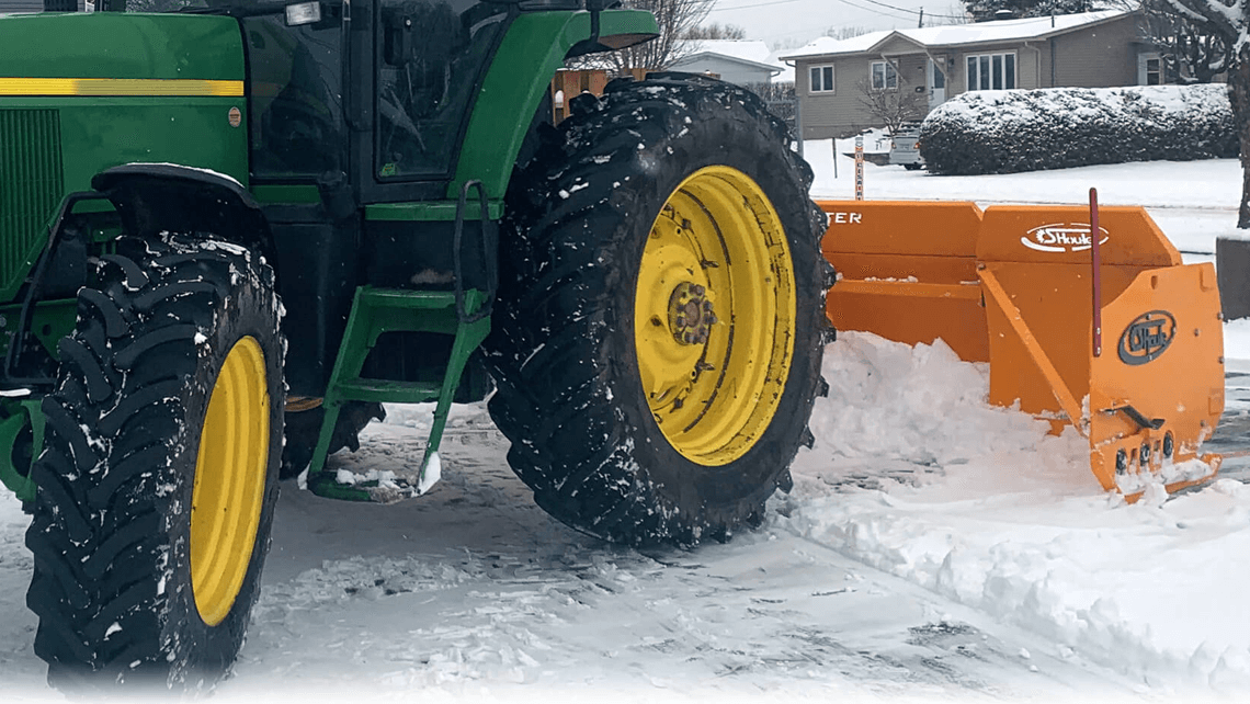snow plow snow blaster agricultural