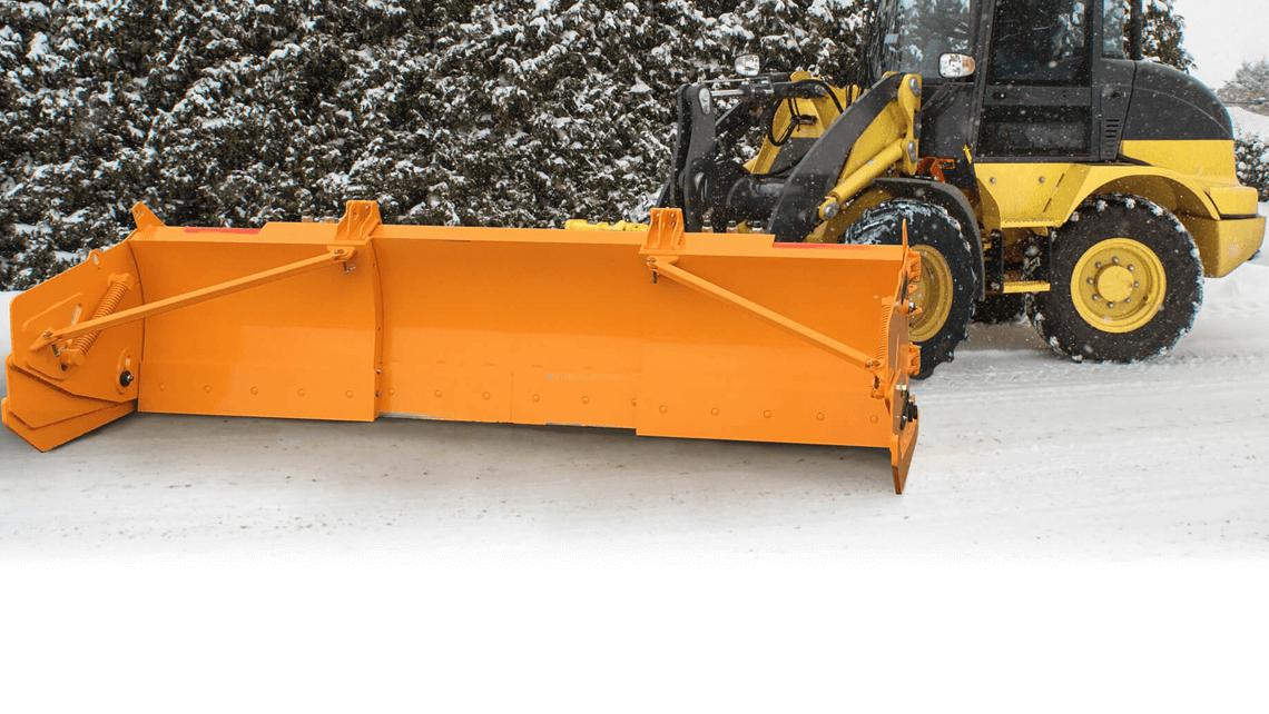 snow plow winter blaster industrial